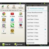 Android Kolay Ön Bellek Temizleyici