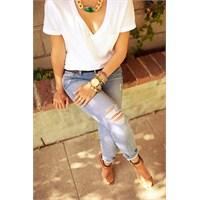 Yeni Trend : Yırtık Jeanler