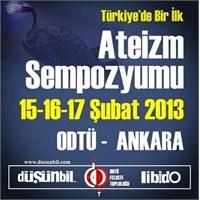 Türkiye'de Bir İlk: Ateizm Sempozyumu