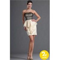 Askısız Abiye Elbise Modelleri