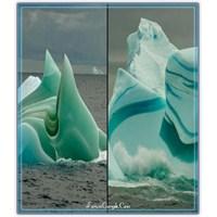Bir Doğa Harikası: Çizgili Buz Dağları