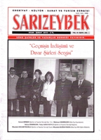 Sarızeybek Dergisi: Sayı 45