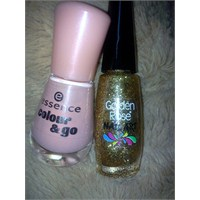 Essence Modern Romance&golden Rose Nail Art 113