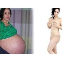 14 Çocuk Doğurdu Sonra 64 Kilo Verdi