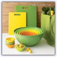 Renkli Mutfağımıza, Renkli Eşyalar