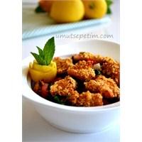 Çıtır Tavuklu Diyet Salata