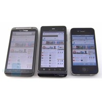 Motorola Droid3, Htc Thunderbolt, İphone4 İnceleme