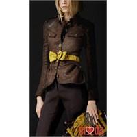 Burberry İle Yeni Sezon Bayan Ceketler