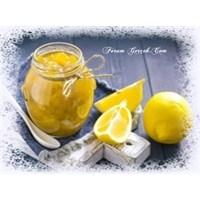 Limon Reçelinizi Kendiniz Yapın