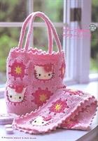 Hello Kitty li Çocuk Çanta Ve Atkı Modeli Şemalı
