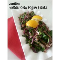 Maydanozlu Soğan Salatası