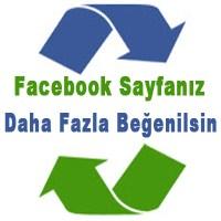 Facebook Sayfanızın Beğenisini Artırın!!!