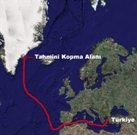 İzmir Körfezinde Buz Dağı