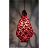 Tavandan Sarkan Makrame Sanatı
