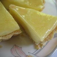 Limonlu Sıcak Tart