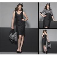 Sarah Danielle Marka Siyah Abiye Elbise Modelleri