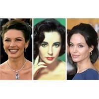 Elizabeth Taylor'ı Kim Oynar? A) Jolie B) Zeta Jon