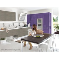 Renkler Artık Mutfaklarda