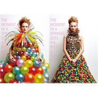 Balon İle Yapılan Çılgın Tasarım Elbiseler.