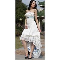 Beyaz Abiye Elbise Modelleri-2