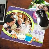 Kişiye Özel Doğum Günü Mesajlı Mousepad