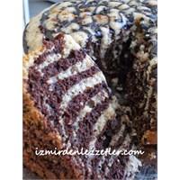 Tencerede Zebra Kek