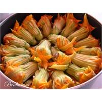 Kabak Çiçeği Dolması, Zeytinyağlı