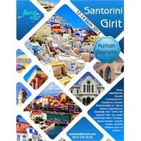 Ekim'de Santorini Girit'te Olmak
