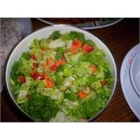 Marul Salatası Yapılışı