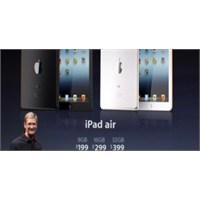 Apple'ın Yeni Cihazı İpad Air