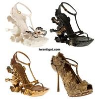 Fütüristik Sıradışı Tasarım Ayakkabı Modelleri
