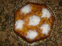 Yağsız Portakallı Kek