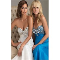 2013 Straplez Elbise Modelleri