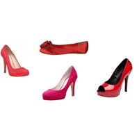 2011 Yazının Kırmızı Ayakkabı Modelleri...