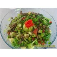 Yeşil Mercimek Salatası Tarifi .