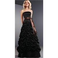 Uzun Siyah Abiye Elbise Modelleri-2