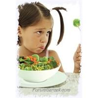 Çocuğunuz Yemek Yemeyi İstemiyor Mu?