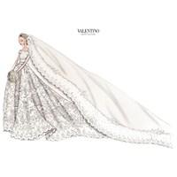 İsveç Prensesi Madeleine'nin Valentino Gelinliği