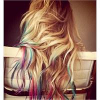 Saçlarda Dip Dye Modası