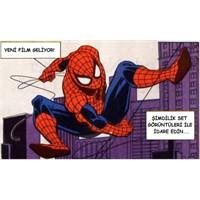 Yeni Örümcek Adam Set Görüntüleri