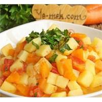 Patates Pilaki (Resimli)
