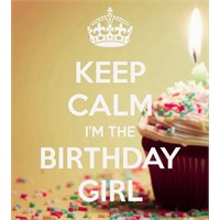 Bugün Benim Doğum Günüm...
