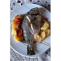 Fırında Çipura Balık Tarifi