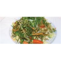 İnce Kıyımlı Yeşil Salata