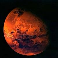 Ve İşte Mars ta Gölün Kanıtları
