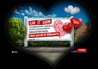 Billboard'da İlan-ı Aşk Etmek İstermisiniz?