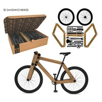 Paketli Ağaç Bisiklet