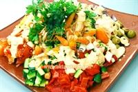 Gökkuşağı Salatası Oktay Usta dan