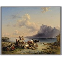 Friedrich Gauermann | Avusturyalı Manzara Ressamı