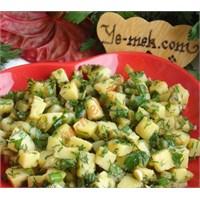 Pratik Patates Salatası Tarifi (Resimli)